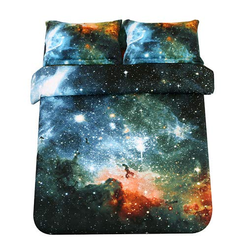 Space Sheets Outer Bedding Set, Queen Size Space Bedding