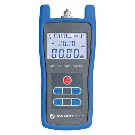 JONARD TOOLS FPM-50 Fiber Optic Power Meter,LCD (Best Power Meter For Optic Fibers)