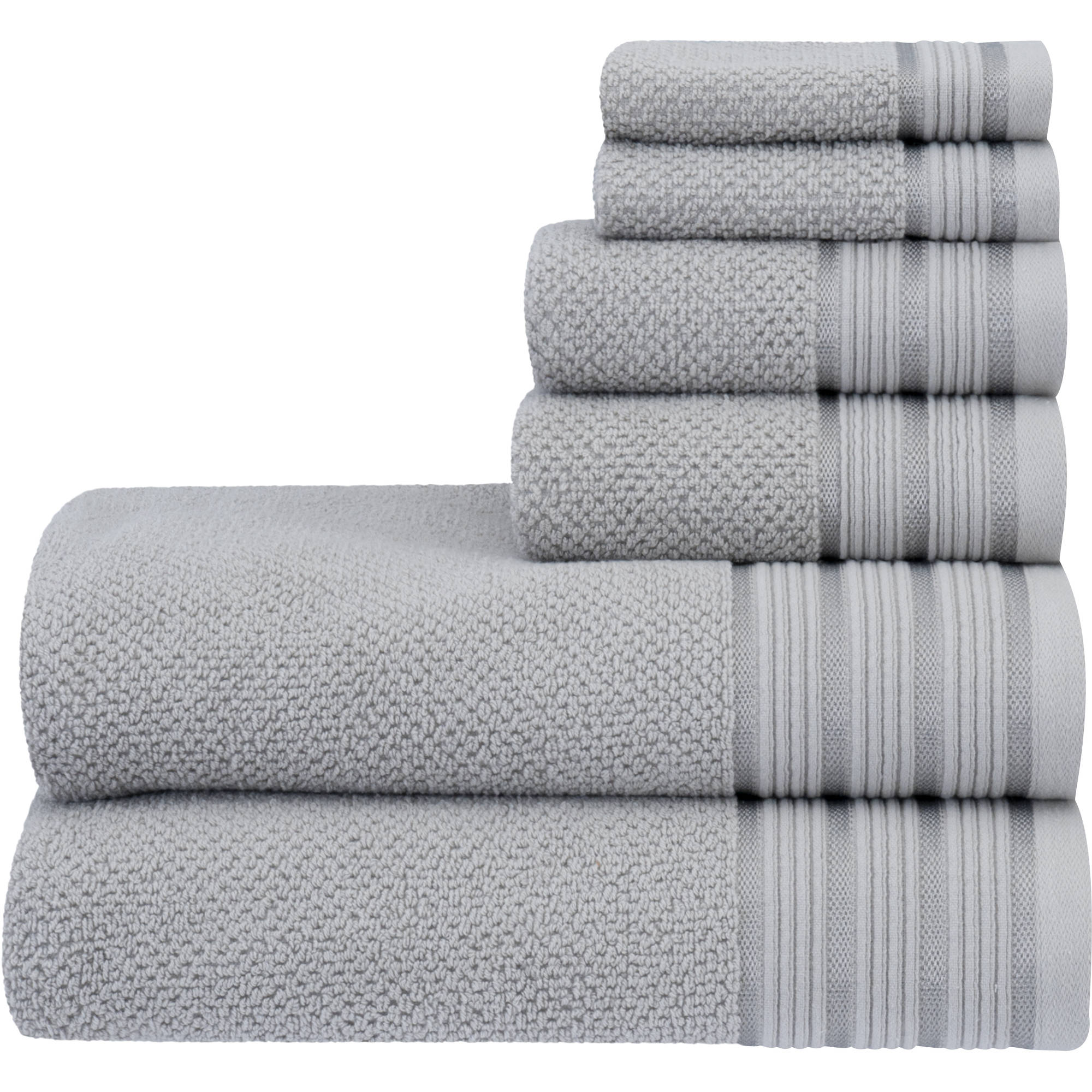 Better Homes U0026 Gardens 6 Piece Towel Set   Honey Comb