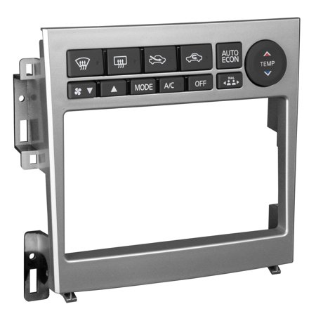 Metra 95-7605 Turbo2 Interface System Double DIN for 2005-2006 Infiniti G35 Sedan and 2005-2007 Infiniti G35 Coupe (Metra Interface)