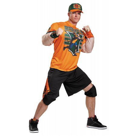 John Cena Muscle Classic Adult Costume - XX-Large - Show And Tell Halloween