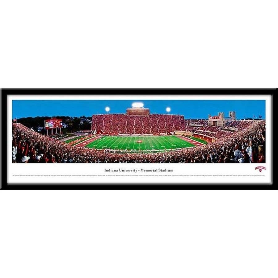 Indiana University, Memorial Stadium Framed Print