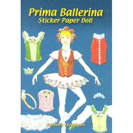 Prima Ballerina Sticker Paper (Ballerina Paper)