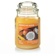 American Home by Yankee Candle Island Mango Coconut, 19 oz Large Jar