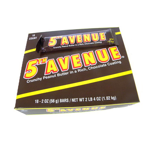 Image of 5TH AVENUE Bar, 2 oz, 18 Count
