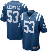 Darius Leonard Indianapolis Colts Nike Player Game Jersey - Royal