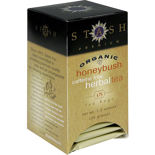 Stash Herbal Vanilla Honeybush Tea Bags, 18ct (Pack of 6)
