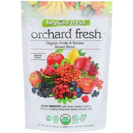 Beyond Fresh  Orchard Fresh  Organic Fruits   Berries Master Blend  Natural Flavor  6 35 oz  180 g (Frozen Berries)