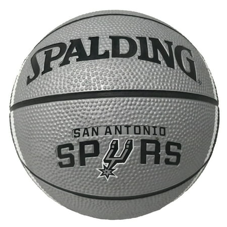 Spaulding - NBA 7 Inch Mini Basketball, San Antonio Spurs