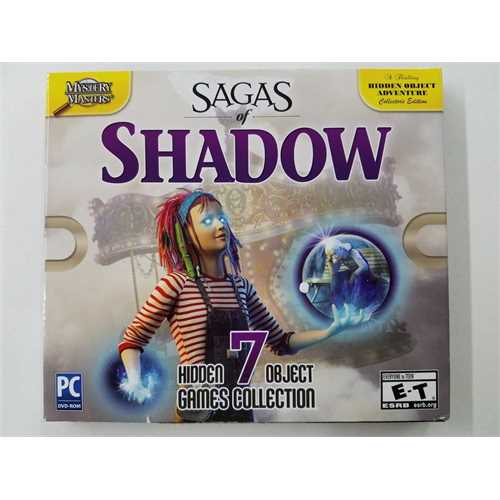 Mystery Masters: Sagas of Shadow (PC, 2016) 7 Hidden Object Games Collection (Hidden Objects Computer Games)