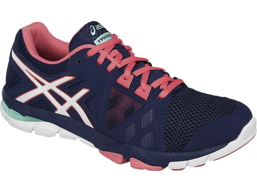 ASICS ASICS Women's Gel Craze TR 3 Cross Trainer Shoe, Dark NavyWhiteGuava, 11 M US