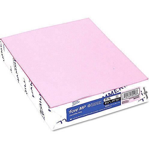 """Hammermill Fore MP 20-lb Recycled Colored Paper, 8-1/2"""" x 11"""", 500 Sheets"""