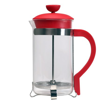 Primula Classic Coffee French Press, 8 Cup, 32 Oz, Red