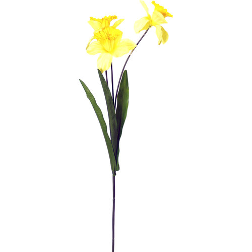 Artificial Silk Daffodil Stem