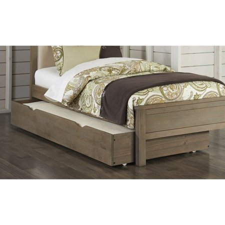 Rosebery Kids Twin Panel Bed with Trundle in Driftwood - image 1 de 2