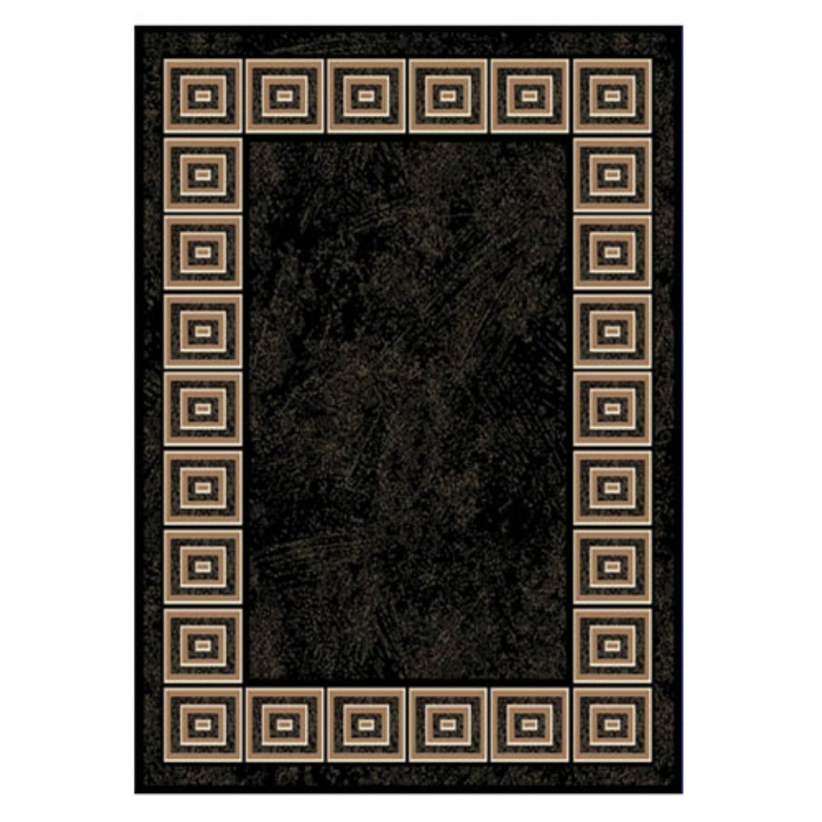 Home Dynamix Optimum Collection Area Rug, Black by Home Dynamix