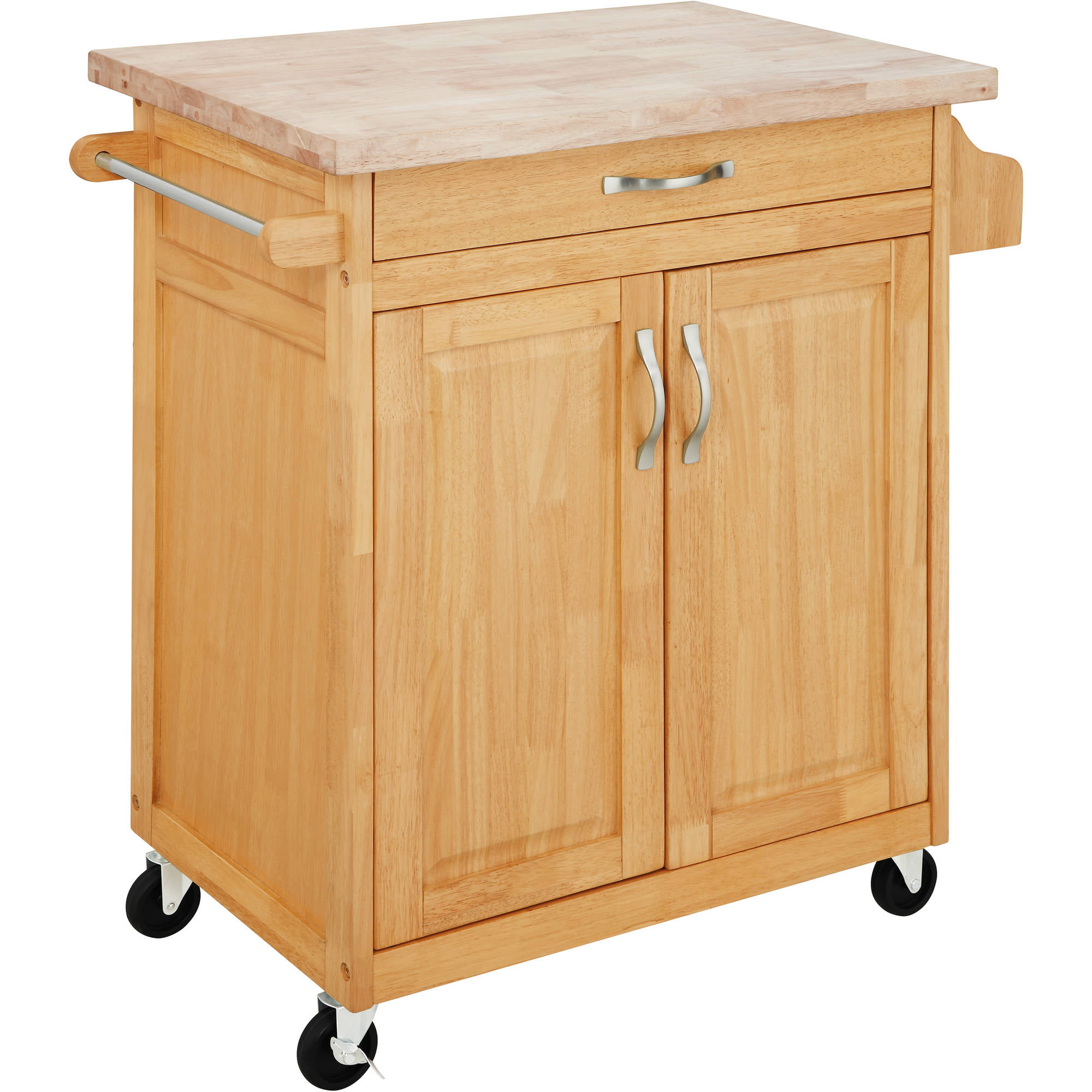 mainstays kitchen island cart multiple finishes mainstays kitchen island cart finishes ebay 9721
