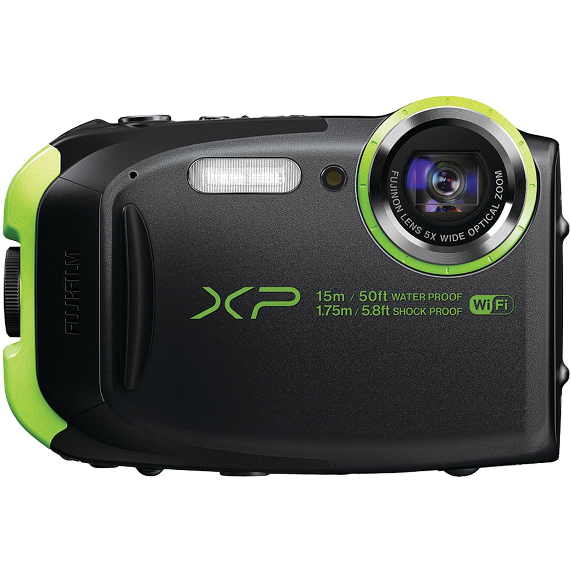 Fujifilm FinePix XP80 Waterproof Digital Camera with 2.7-Inch LCD (Graphite Black)
