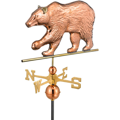 Good Directions Big Bear Copper Weathervane by Overstock