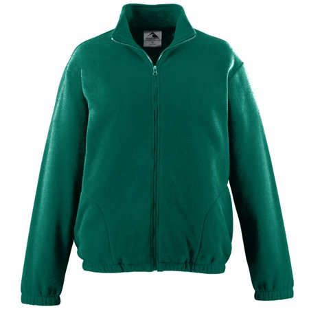 Men's Chill Fleece Full Zip Jacket Xl Dark Green (Adult Chill Fleece)
