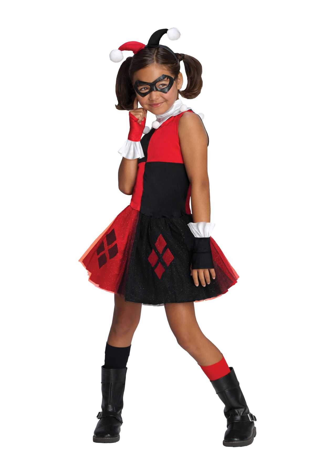 Batman Harley Quinn Tutu Costume Girls Medium by Rubies