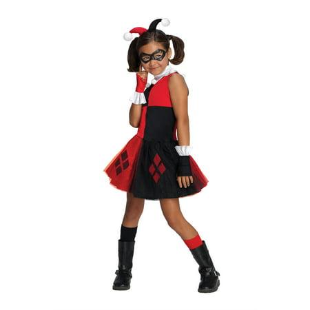 Batman Harley Quinn Tutu Costume Girls Medium - Harley Quinn Stocking