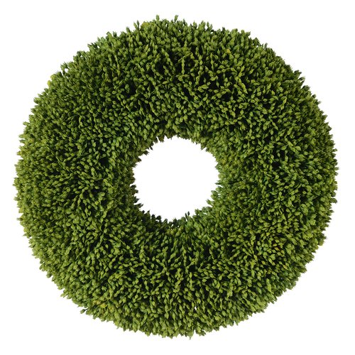 Established 98 11'' Faux Grass Seed Wreath