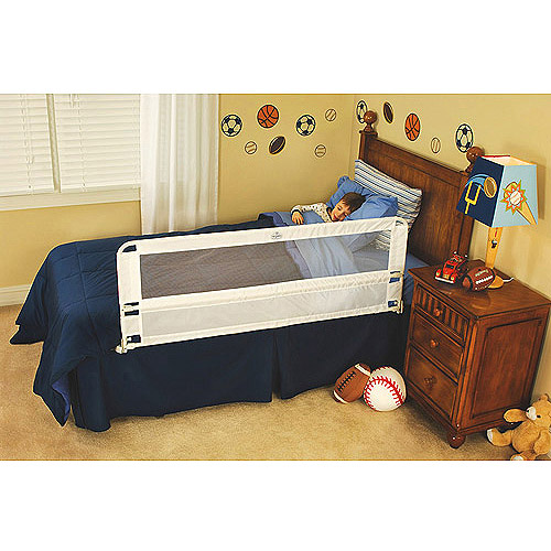 Regalo Hide Away 54-Inch Extra Long Safety Bed Rail, Features Rail that Slides Under Mattress