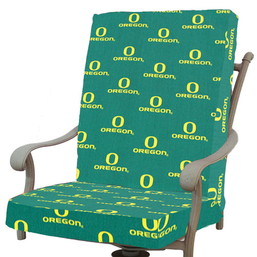 College Covers NCAA Oregon Outdoor Dining Chair Cushion