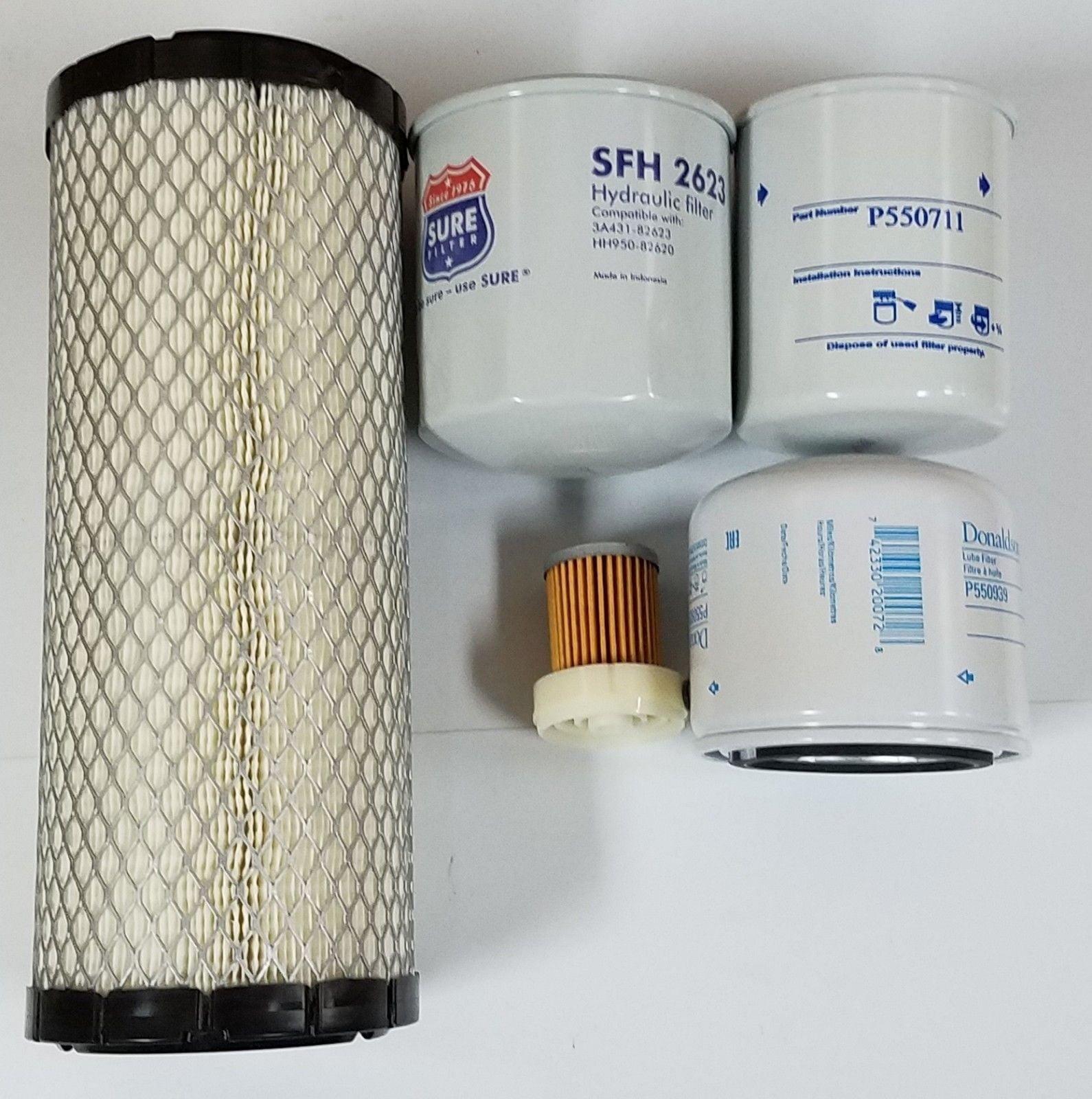 Walmart Dehumidifier Filters kubota l2501 h hst tractor filter kit - (donaldson - baldwin - sure