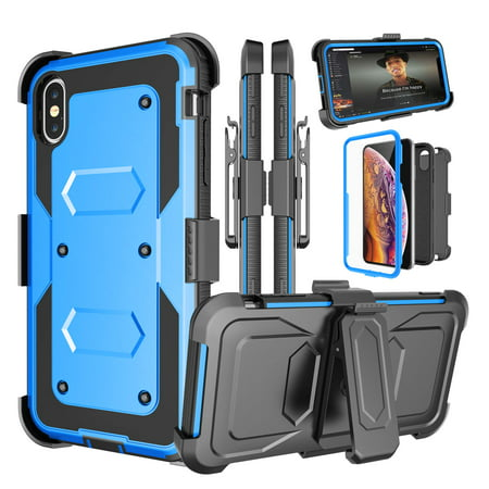 Blue Carrying Case (2018 iPhone XS Max Case, 6.5