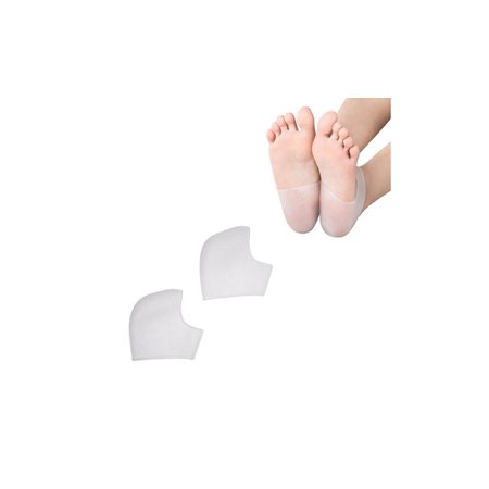 2 Pairs Silicone Gel Heel and Ankle Support Sleeves