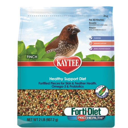 Central   Kaytee Products  Inc Finch Forti Diet Pro 2Lb Rplcs Kt99999