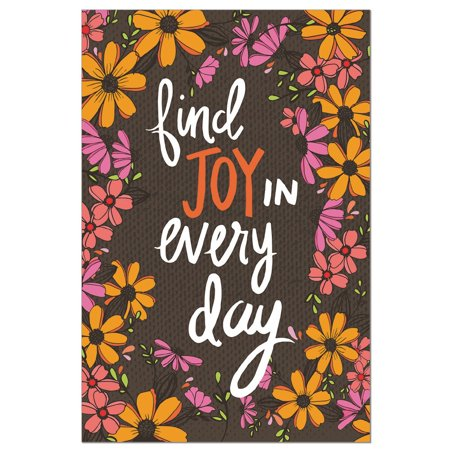 Tree-Free Greetings Joy in Every Day EcoNotes Blank Note Cards-FS56877