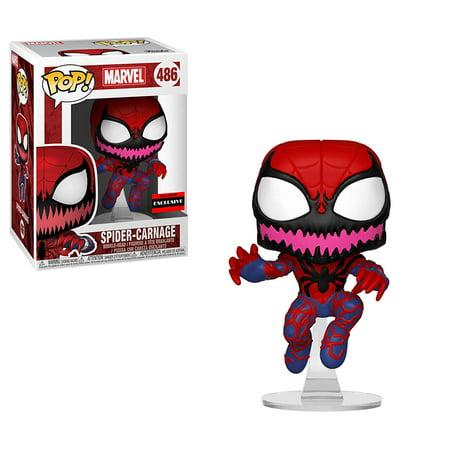 Funko Marvel Spider-Carnage Pop Vinyl Figure Bobblehead (AAA Anime Exclusive) (Pop Figures Anime)