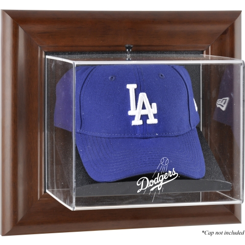 MLB - Los Angeles Dodgers Framed Wall Mounted Logo Cap Display Case