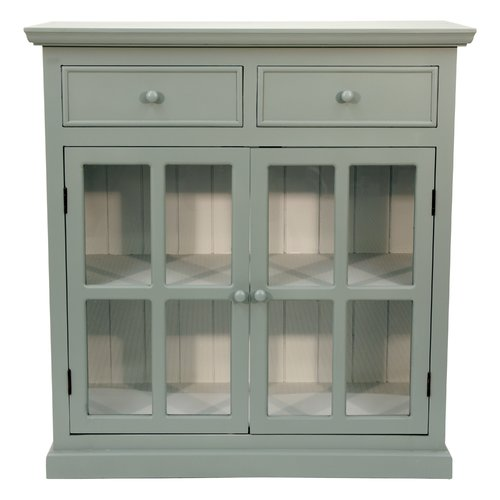 Highland Dunes Charters Towers 2 Door Accent Cabinet