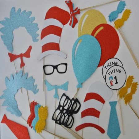 Dr Seuss Inspired Photo Booth Props