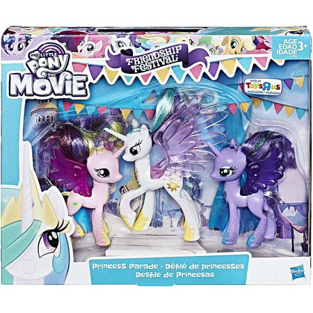 My Little Pony Friendship Festival Princess Parade Figure 3-Pack