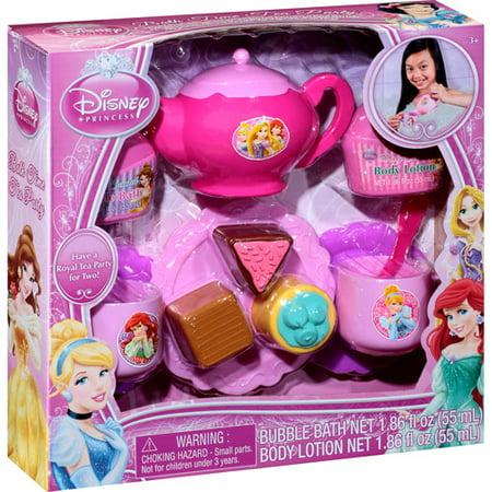 3d011ea48ae11 Disney Princess Bath Time Tea Party Gift Set, 13 pc