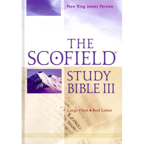 The Scofield Study Bible: New King James Version, Red Letter