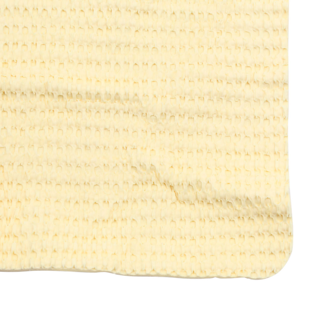 Yellow Car Home Clean Towel Synthetic Chamois Absorbe Washing Cloth 66cm x 43cm - image 2 de 3