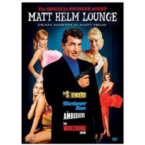 Matt Helm Lounge: The Silencers / Murderers' Row / The Ambushers / The Wrecking Crew