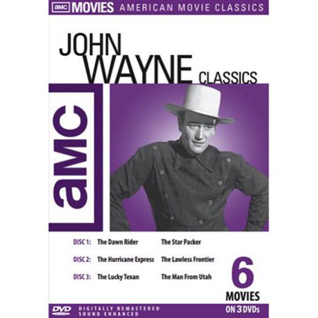 Amc John Wayne Classics  3 Disc   Dawn Rider   Star Packer   Hurricane Express   Lawless Frontier   Lucky Texan   Man From Utah