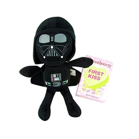Star Wars The Force Awakens Valentine Darth Vader Plush Toy 7 Inch