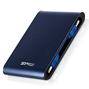 Silicon Power SP020TBPHDA80S3B Armor A80 2TB Portable External Hard Drive