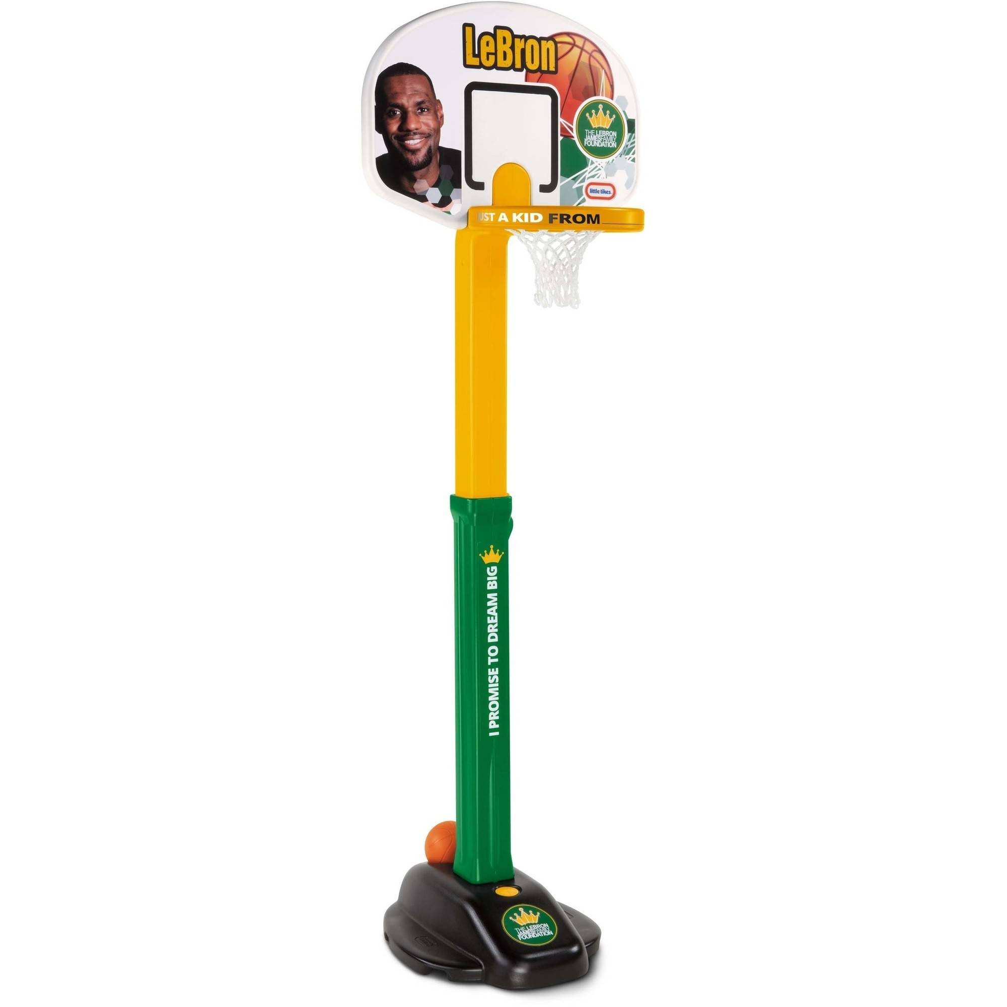 Little Tikes LeBron James Family Foundation Dream Big Basketball Set by MGA Entertainment