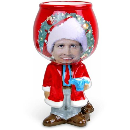 National Lampoon's Christmas Vacation: Standing Clark Molded Ceramic Goblet ()