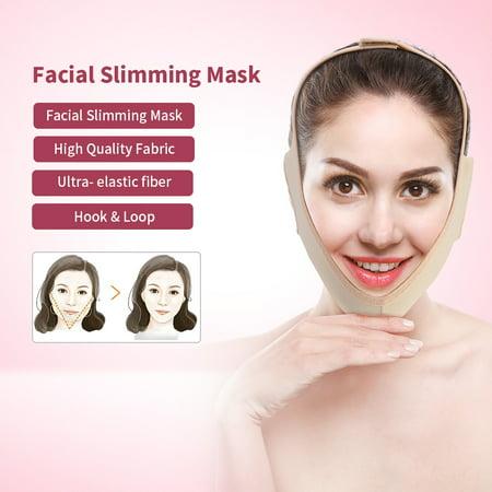 masque facial menton
