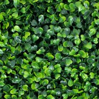 Porpora Artificial Hedge Plant, Greenery Panels Suitable for Both Outdoor or Indoor use, Garden, Backyard and/or Home Decorations, Boxwood 20 x 20 Inch (12 pack)